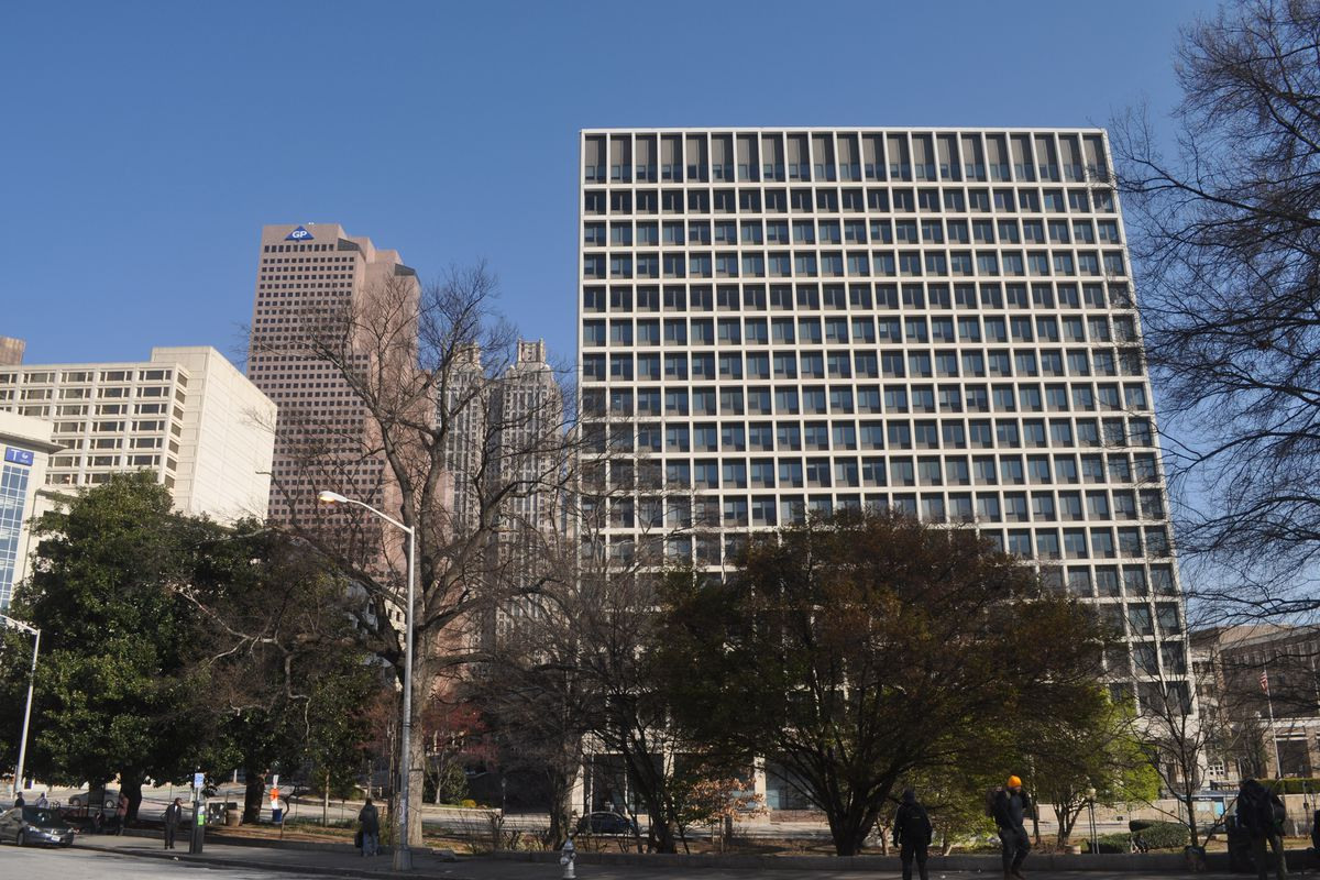 Downtown atlanta office building latest eyed for for Atlanta residential architects