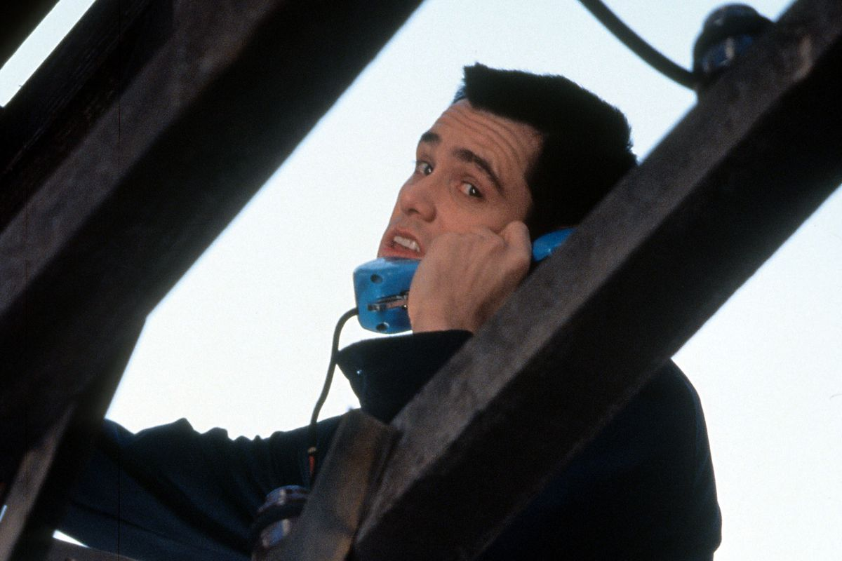 Jim Carrey In 'The Cable Guy'