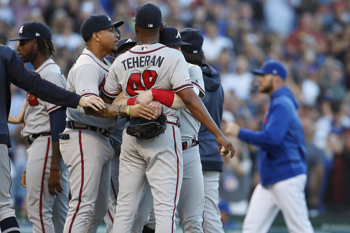 Braves not a fan of Wilson Contreras' behavior leading to bench clearing altercation