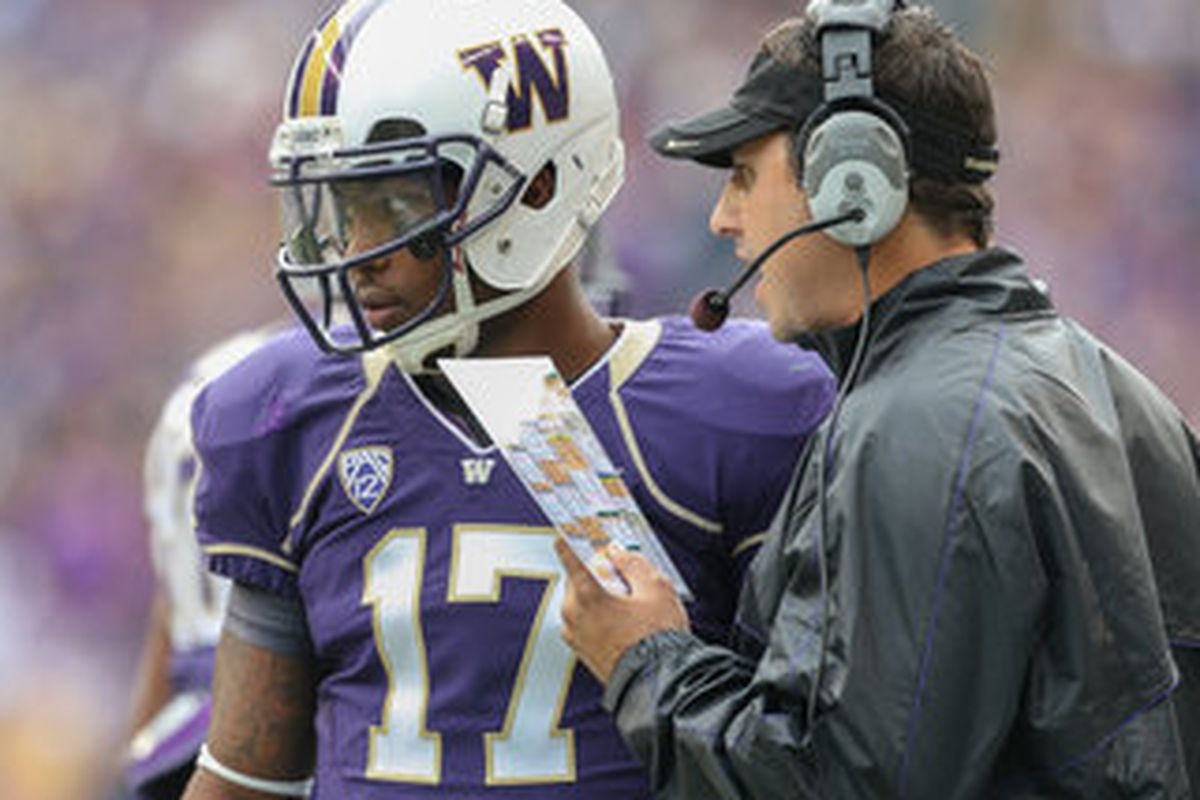 Much is riding on the shoulders of these two men as the Huskies head to the Vegas Bowl.
