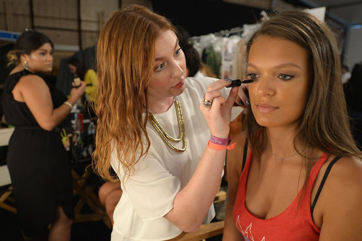 Glamsquad behind the scenes at this year's Maaji Swim 2016 show