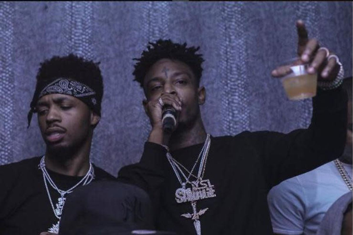 new music 21 savage and metro boomin s long lost collaborative track pause surfaces revolt 21 savage and metro boomin s long lost