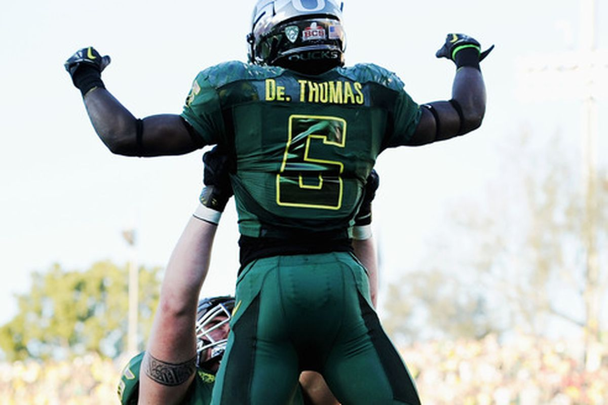 De'Anthony Thomas is the star, and the biggest question mark, of the new look Oregon Ducks.