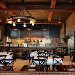 """Park Tavern's address has served as a wood and coal yard, a furniture store, a maple shop, and most recently Moose's restaurant, by the late """"The Lord of North Beach,"""" Ed Moose. In 2011, Anna Weinberg and chef Jenn Puccio reconfigured the space—inspired b"""