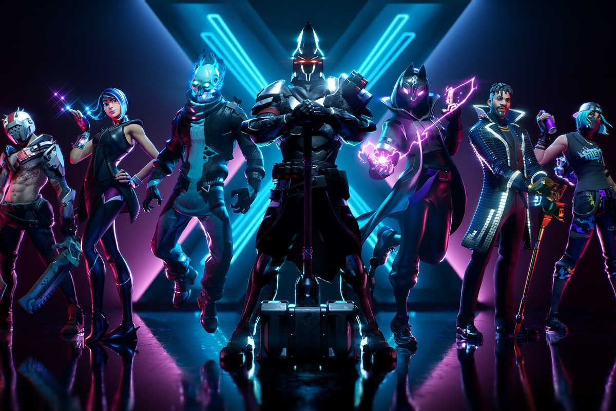 Fortnite season X battle pass overview: skins, cosmetics, and more