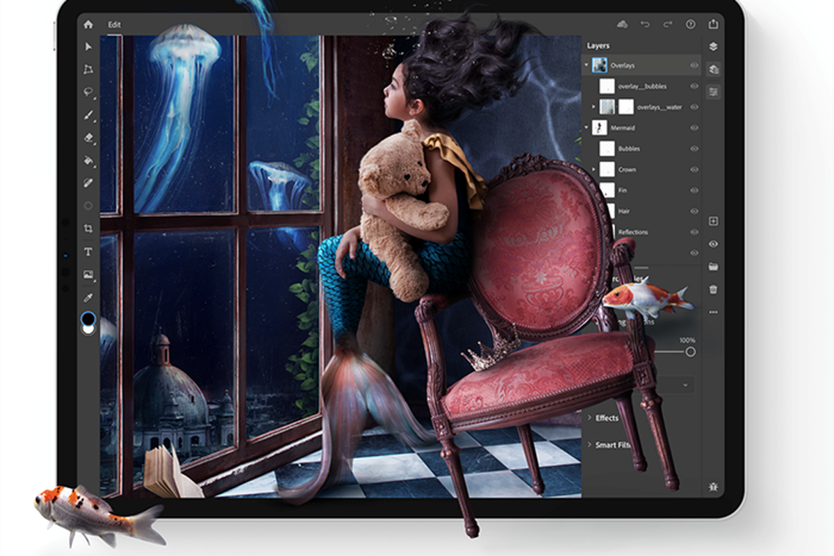 Adobe S Photoshop For The Ipad Is Finally Here With More Features To Come The Verge Edit your photos and images with adobe photoshop, the best photo and design editor. adobe s photoshop for the ipad is