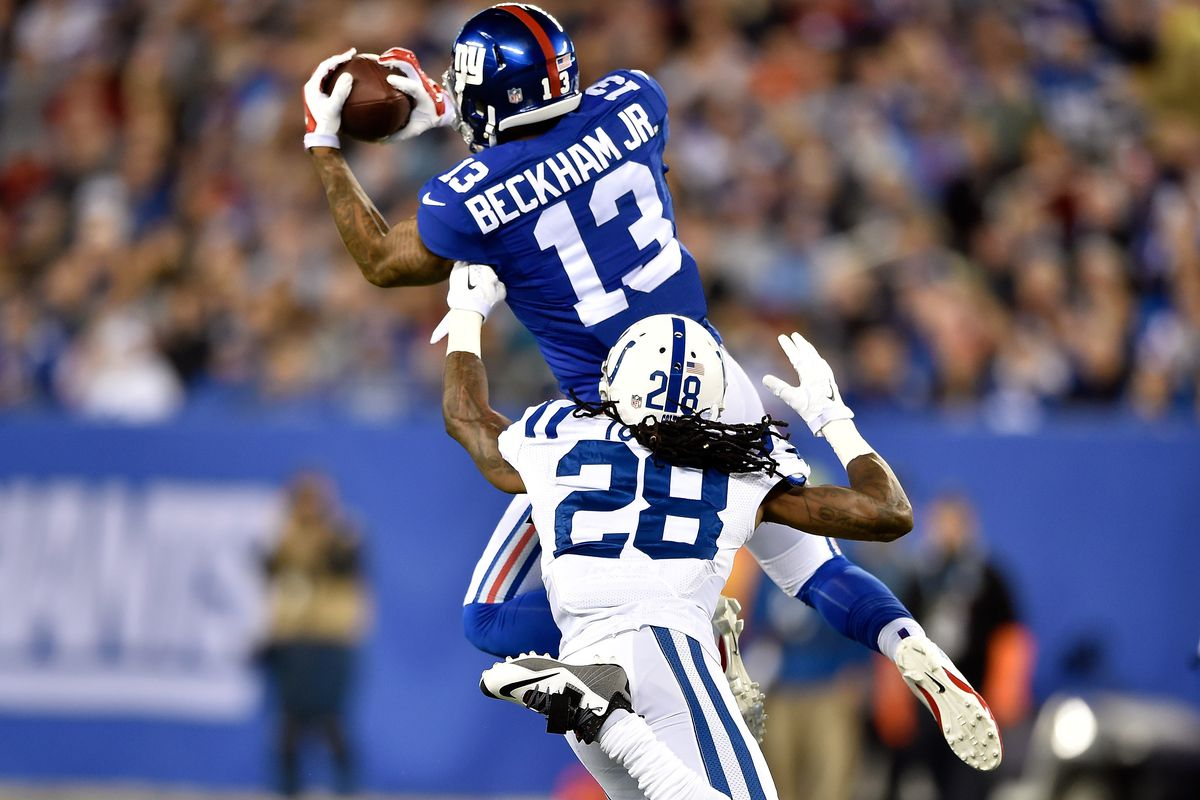 odds makers name colts among odell beckham jr s most possible