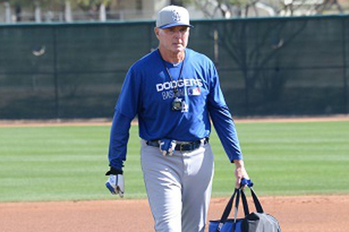 John Shoemaker began his coaching career as hitting coach for Class-A Vero Beach in 1981.