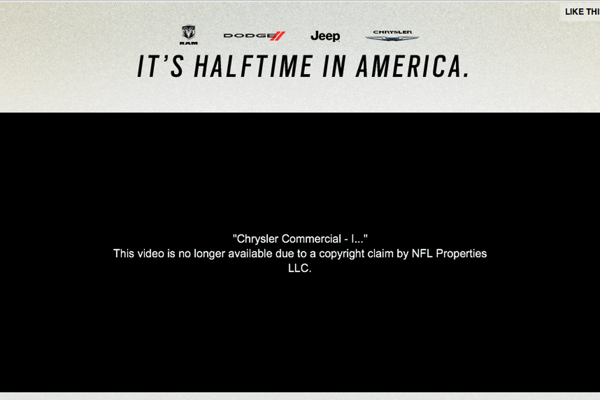 Halftime in America