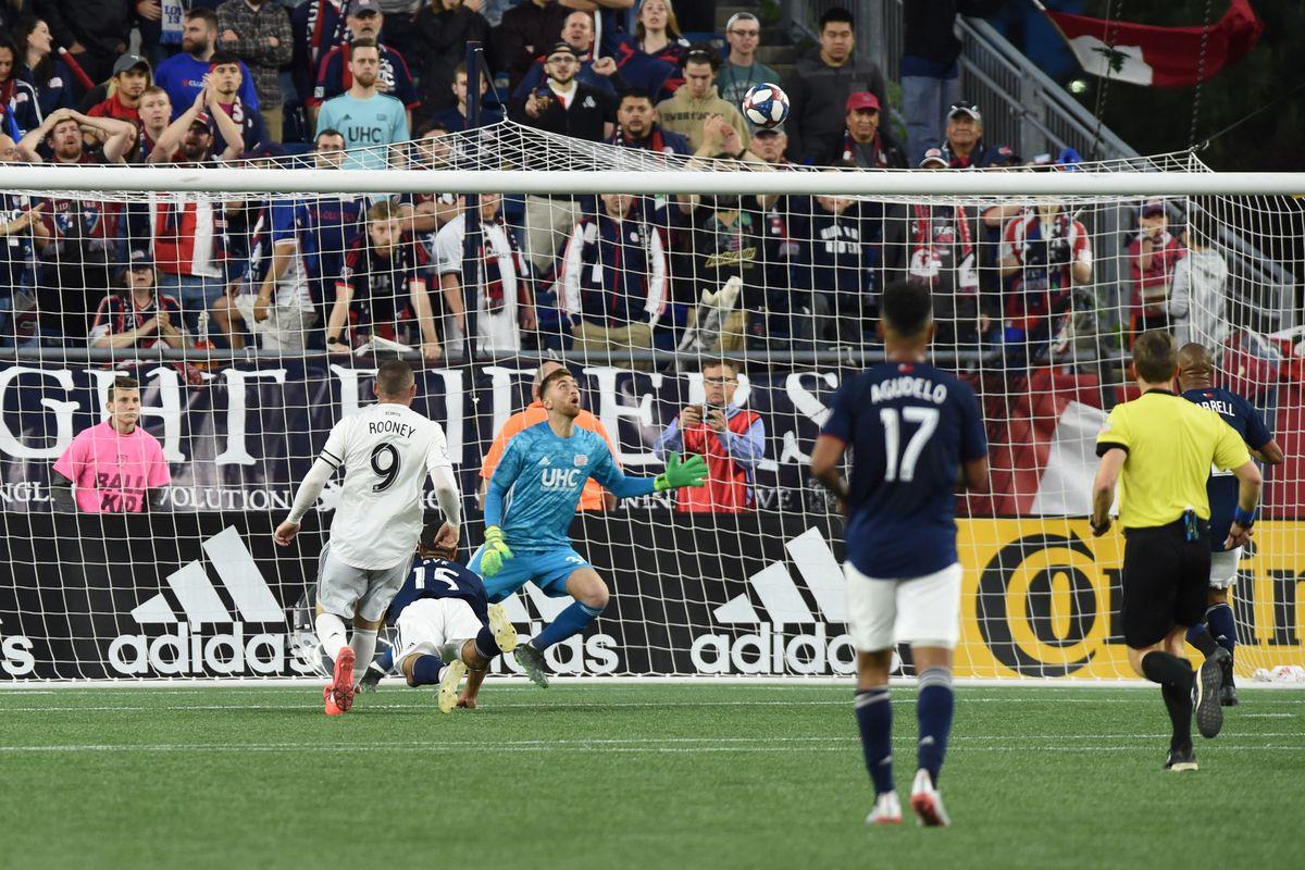 MLS: D.C. United at New England Revolution