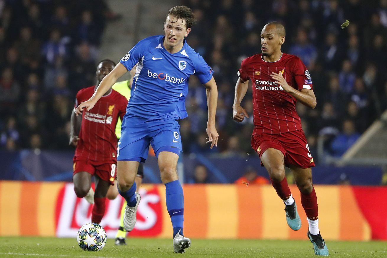KRC Genk vs Liverpool FC - UEFA Champions League
