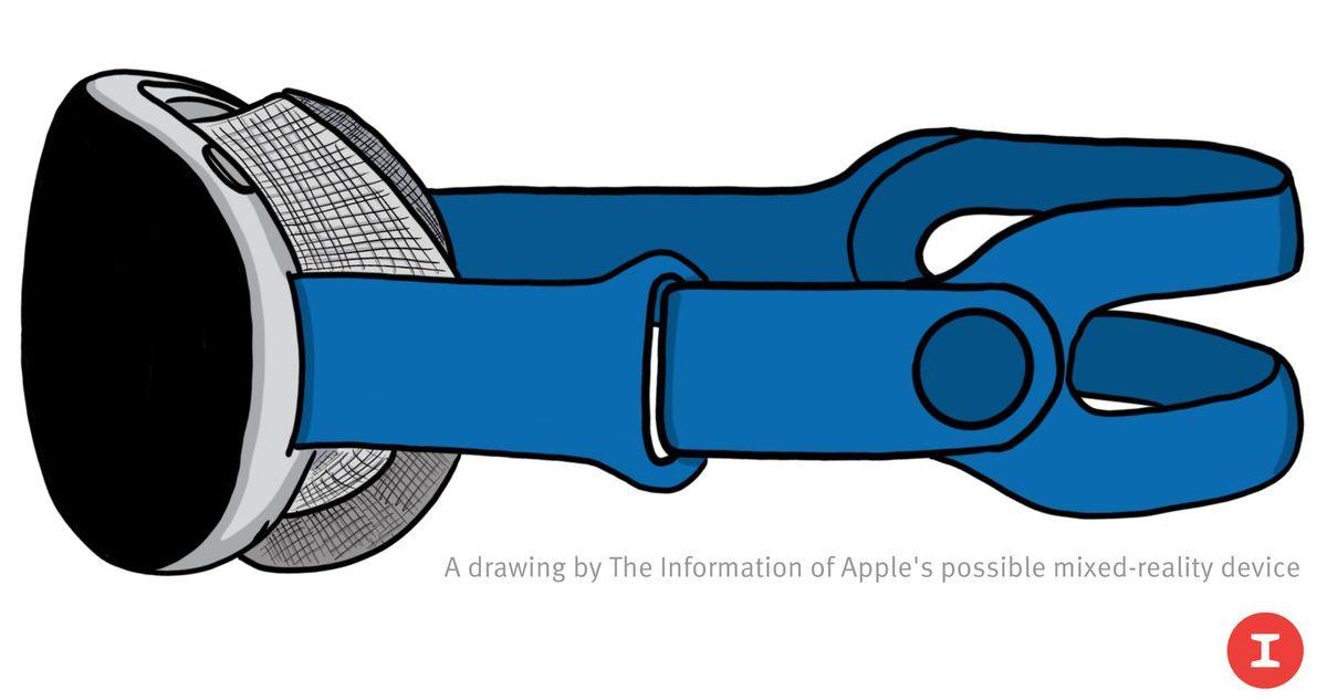 visore realtà virtuale e aumentata Apple