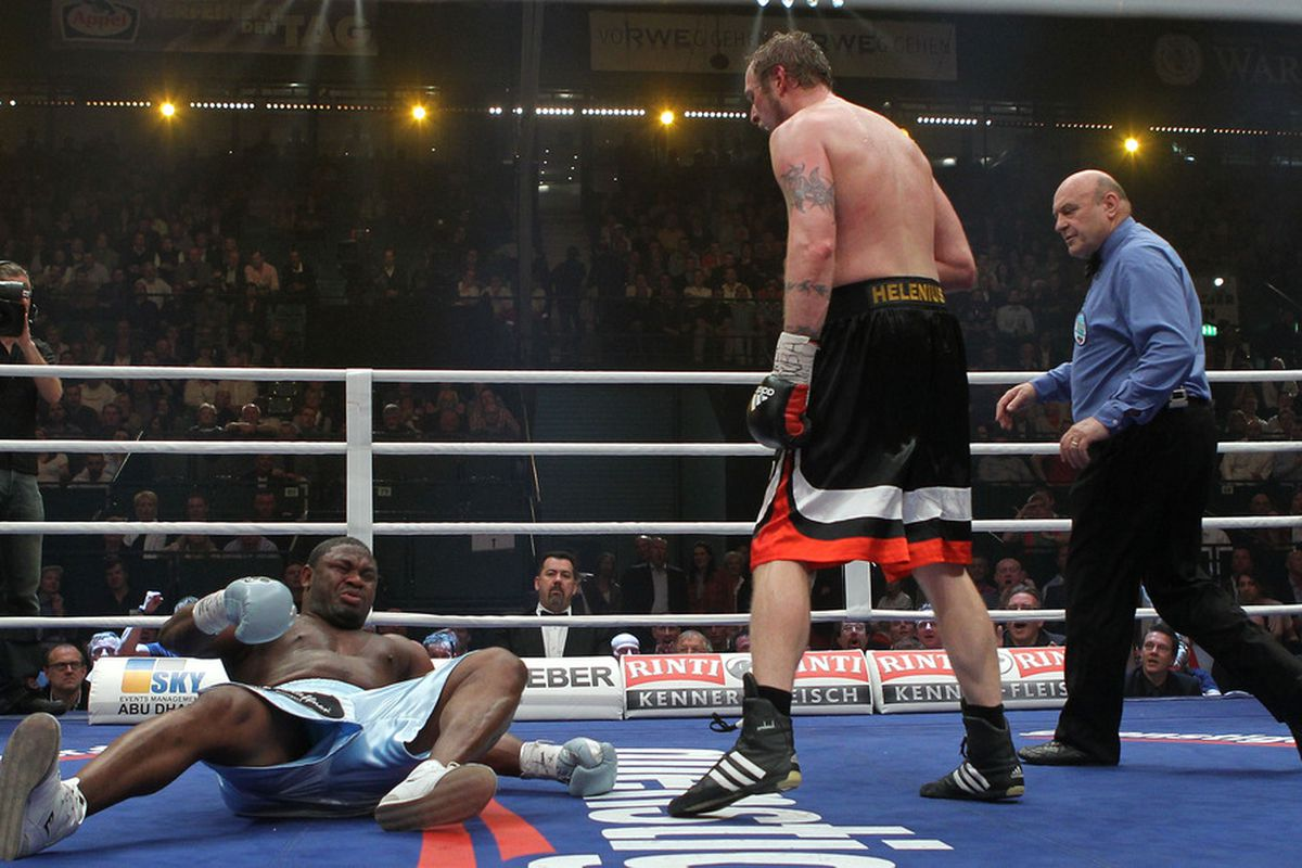 Robert Helenius made a big splash in April with a knockout victory over Sam Peter. The big Finnish heavyweight is back in action this Saturday, with the odds favoring another KO win. (Photo by Boris Streubel/Bongarts/Getty Images)
