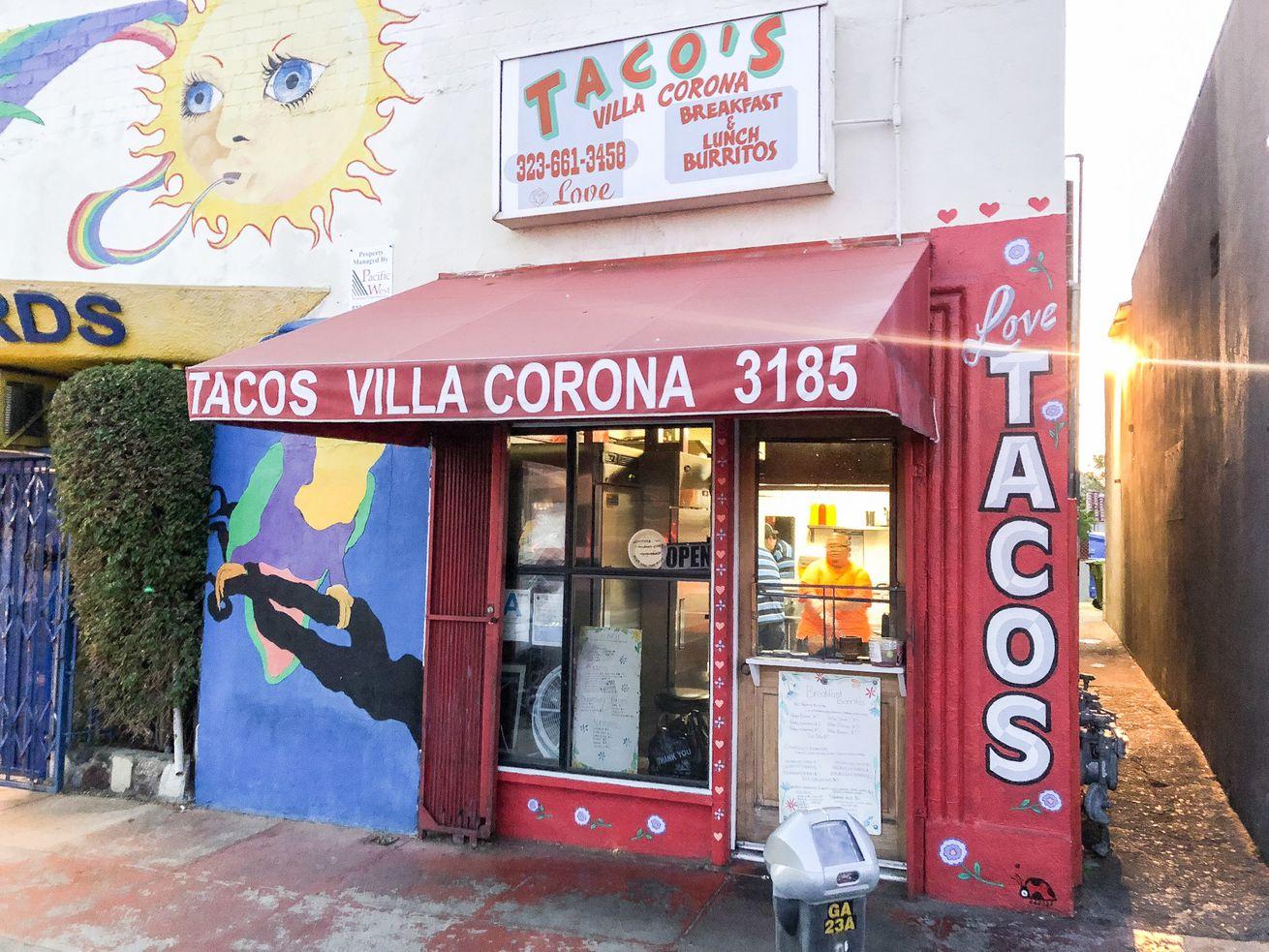 Tacos Villa Corona in Atwater Village