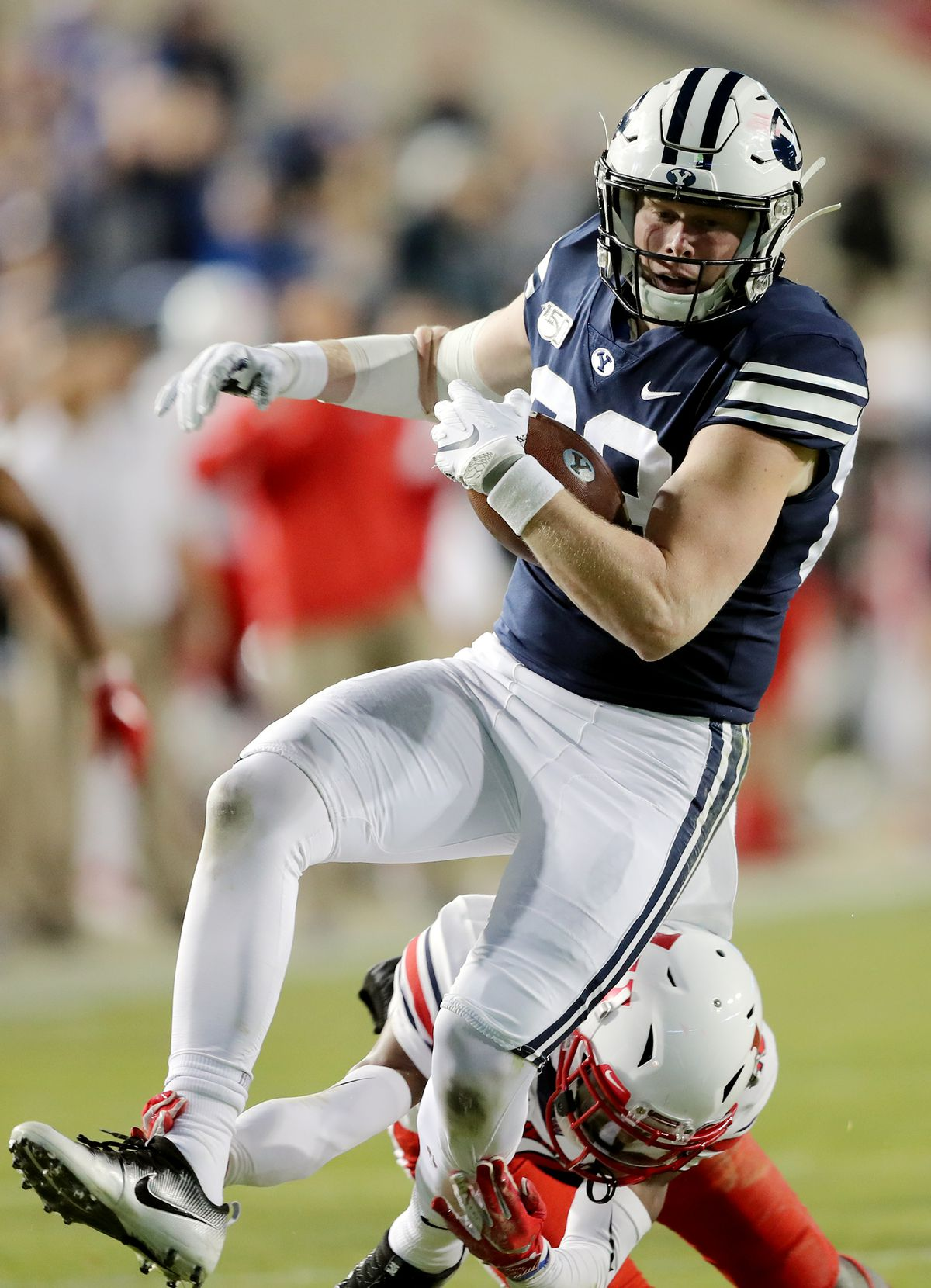 BYU tight end Matt Bushman says he will decide after ...