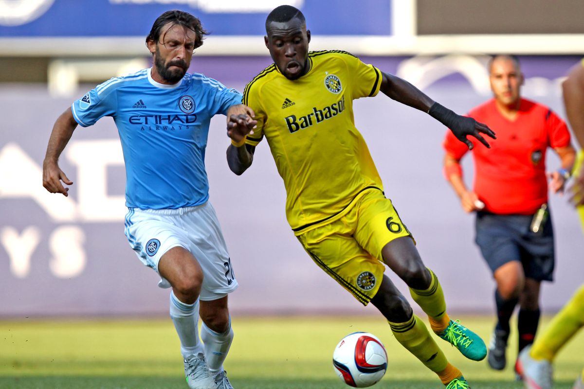 Tony Tchani and Crew SC will host New York City FC on Saturday, as Columbus plays just its second home game of 2016.