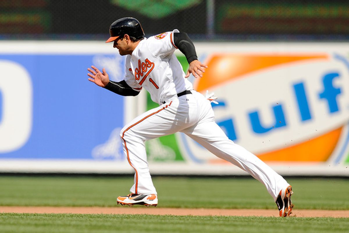Brian Roberts has 39 less stolen bases than all-time O's leader Brady Anderson, but his 80.2% success rate is more impressive than Anderson's 75.8%.