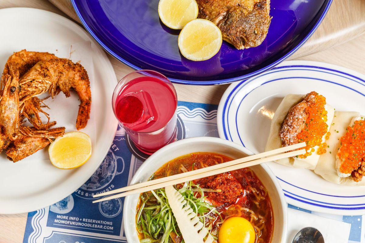 Celebrity Dining: Smoked pork ramen and varied dishes at Momofuku Noodle Bar