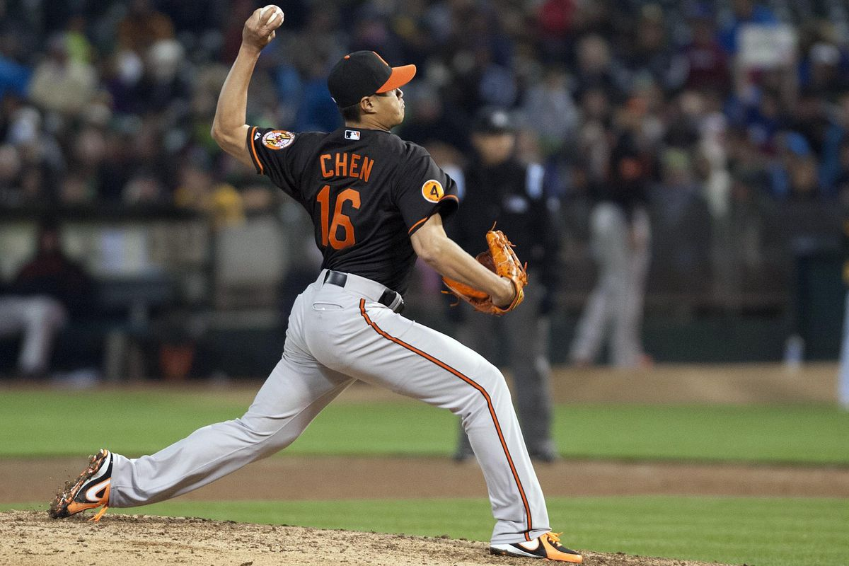 """Thank you, Wei-Yin, for saving us from the """"no starter has gone seven innings"""" mantra."""