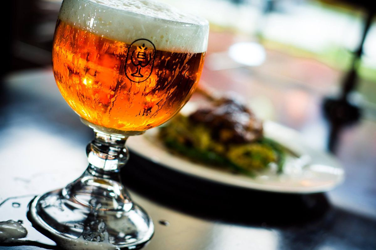 The first pop-up dinner will feature beer pairings from Cascade Brewing in Portland.