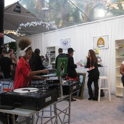"""The lounge's 10-year-old wunderkind, <a href=""""https://www.facebook.com/djyoung1la"""">DJ Young1</a>."""