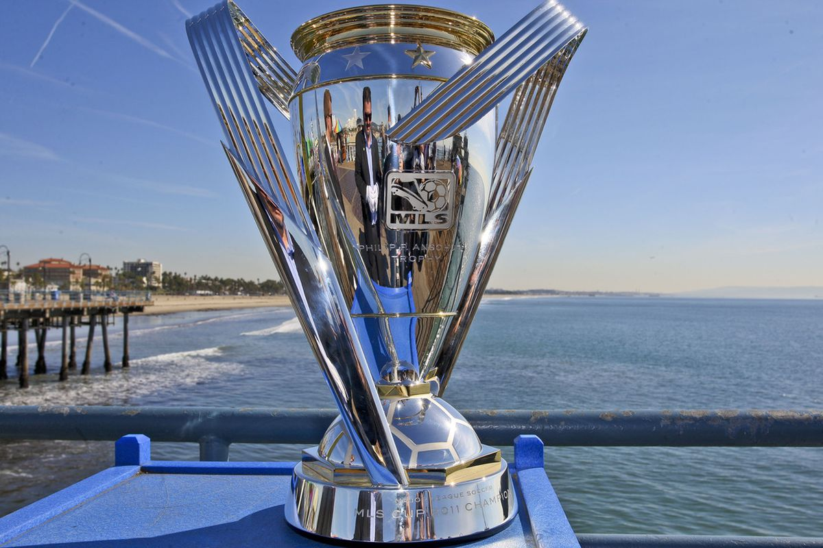 MLS Cup Trophy(photo from mlssoccer.com)
