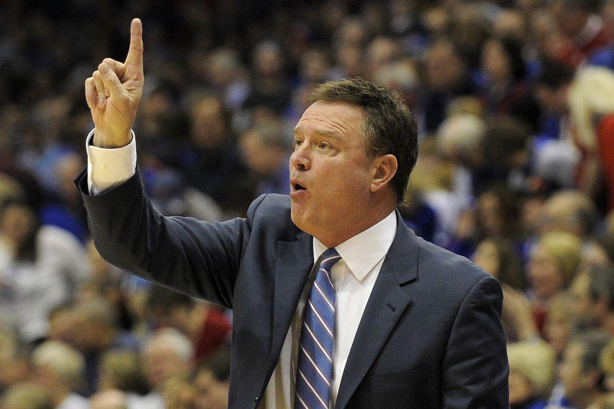 Head coach Bill Self