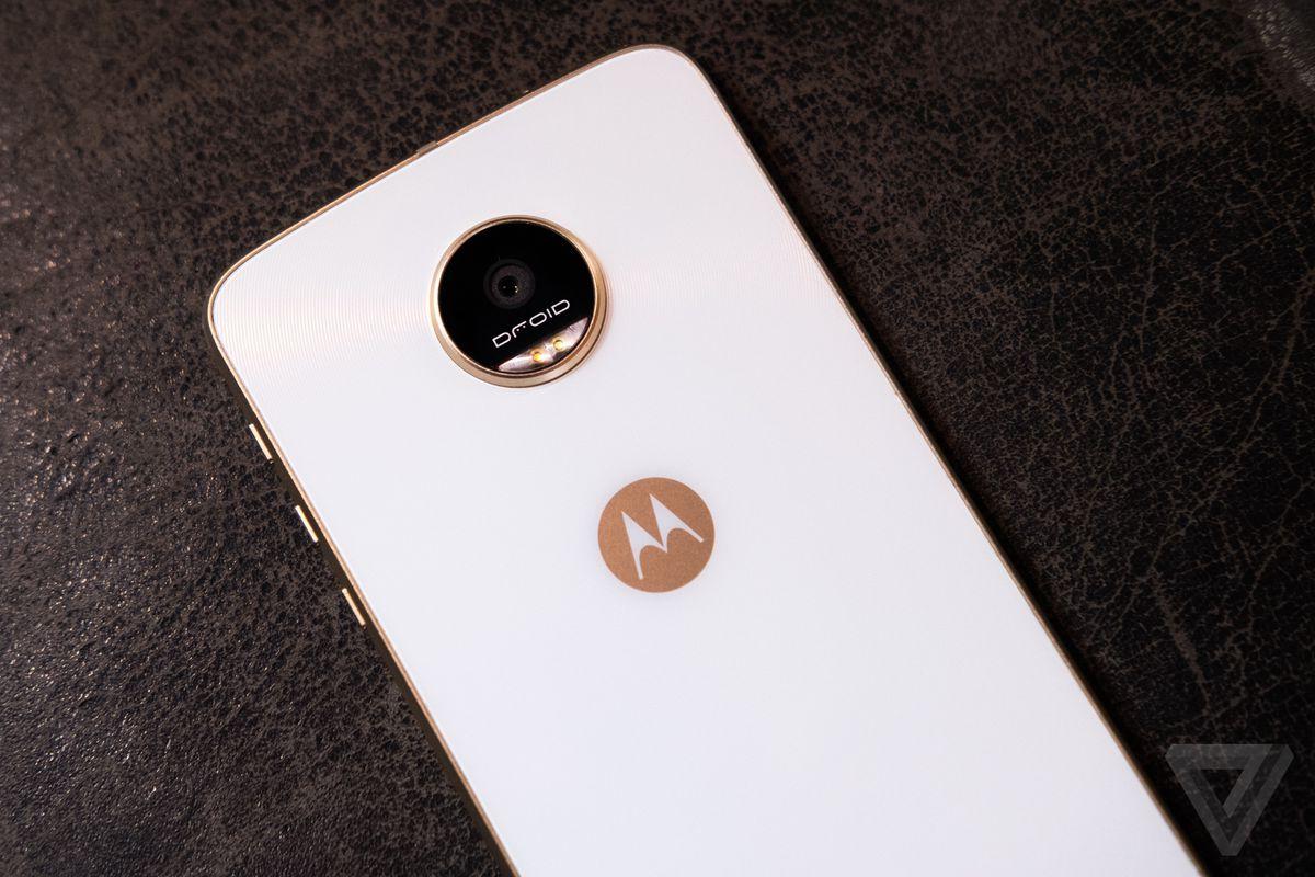 Moto Z Play back