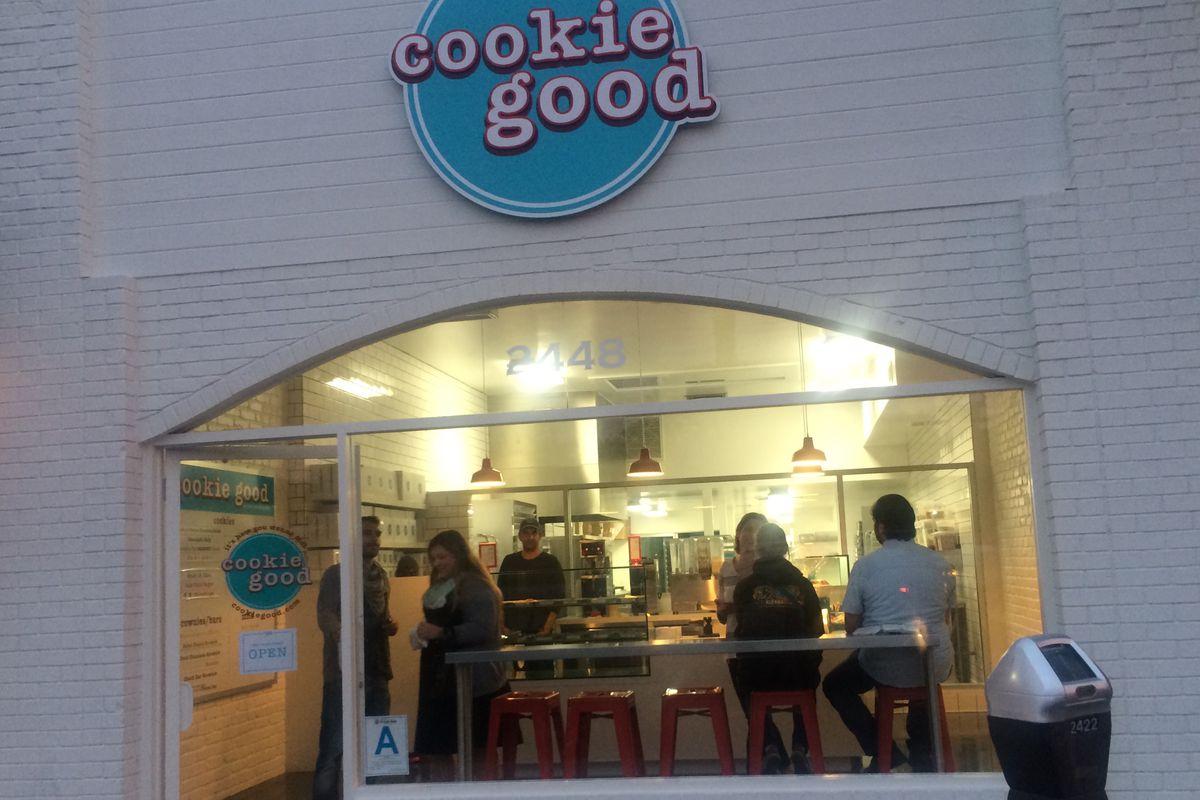 Cookie Good An Emporium Of Eclectic Cookies Now Open In Santa