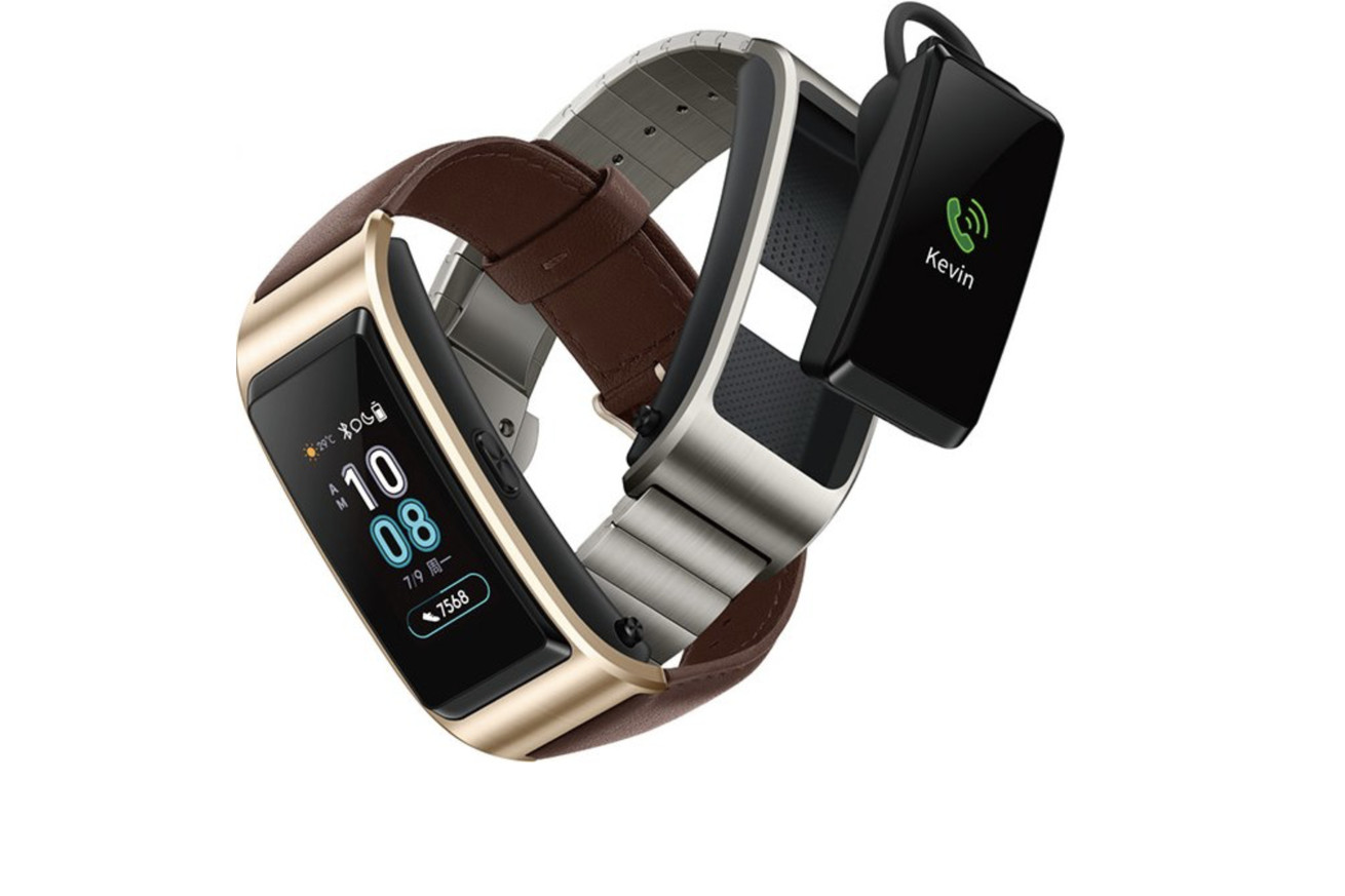 huawei s talkband b5 leak confirms the company is still trying to fit a bluetooth headset into a watch