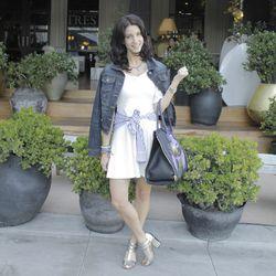 "Kiara Schwartz of <a href=""http://tobruckave.blogspot.com/""target=_blank"">Tobruck Ave</a> and her rad Givenchy bag."