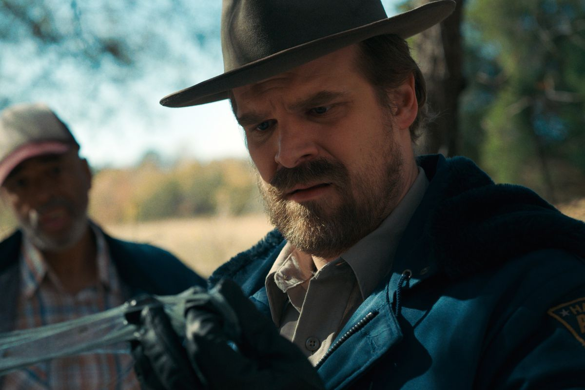 What the hell is wrong with Hopper in Stranger Things season