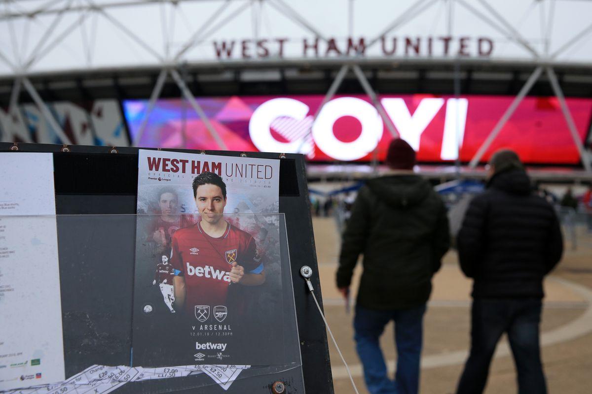 West Ham United v Arsenal FC - Premier League