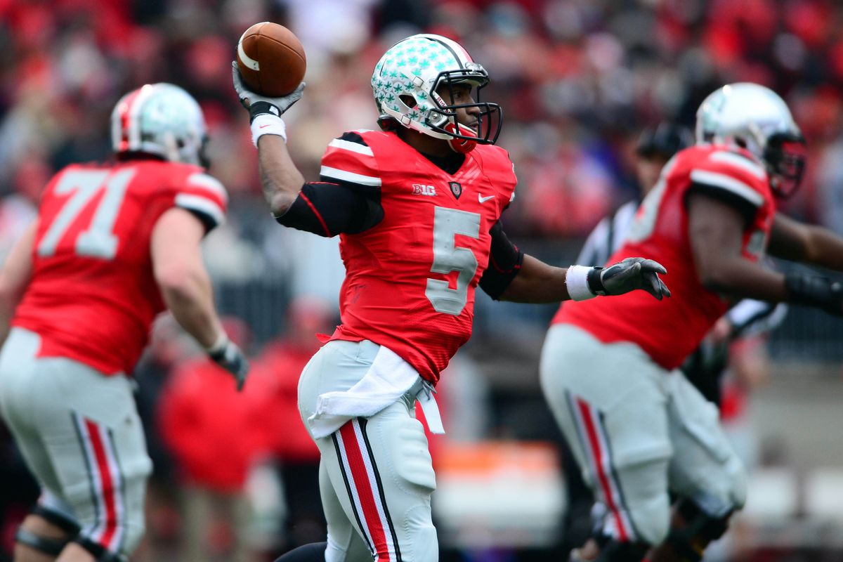 Braxton Miller and company open 2013 with the fourth best odds to win the 2014 BCS Championship Game.