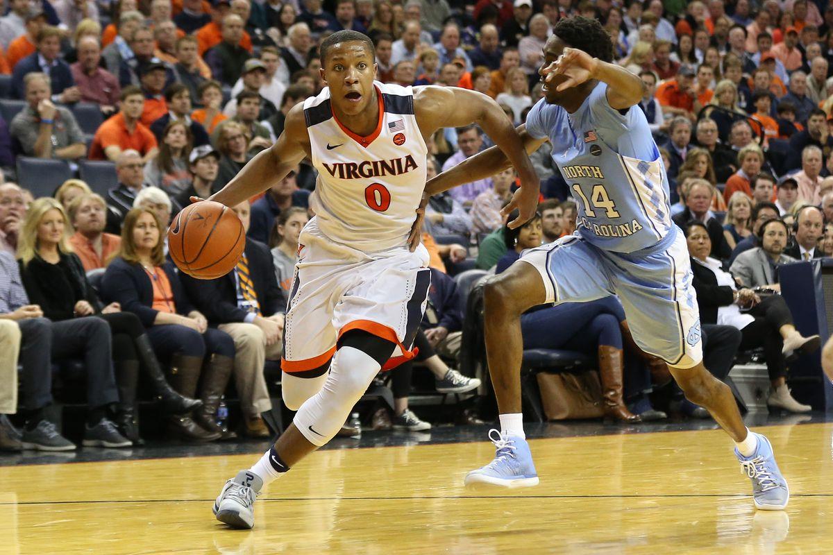 NCAA Basketball: North Carolina at Virginia