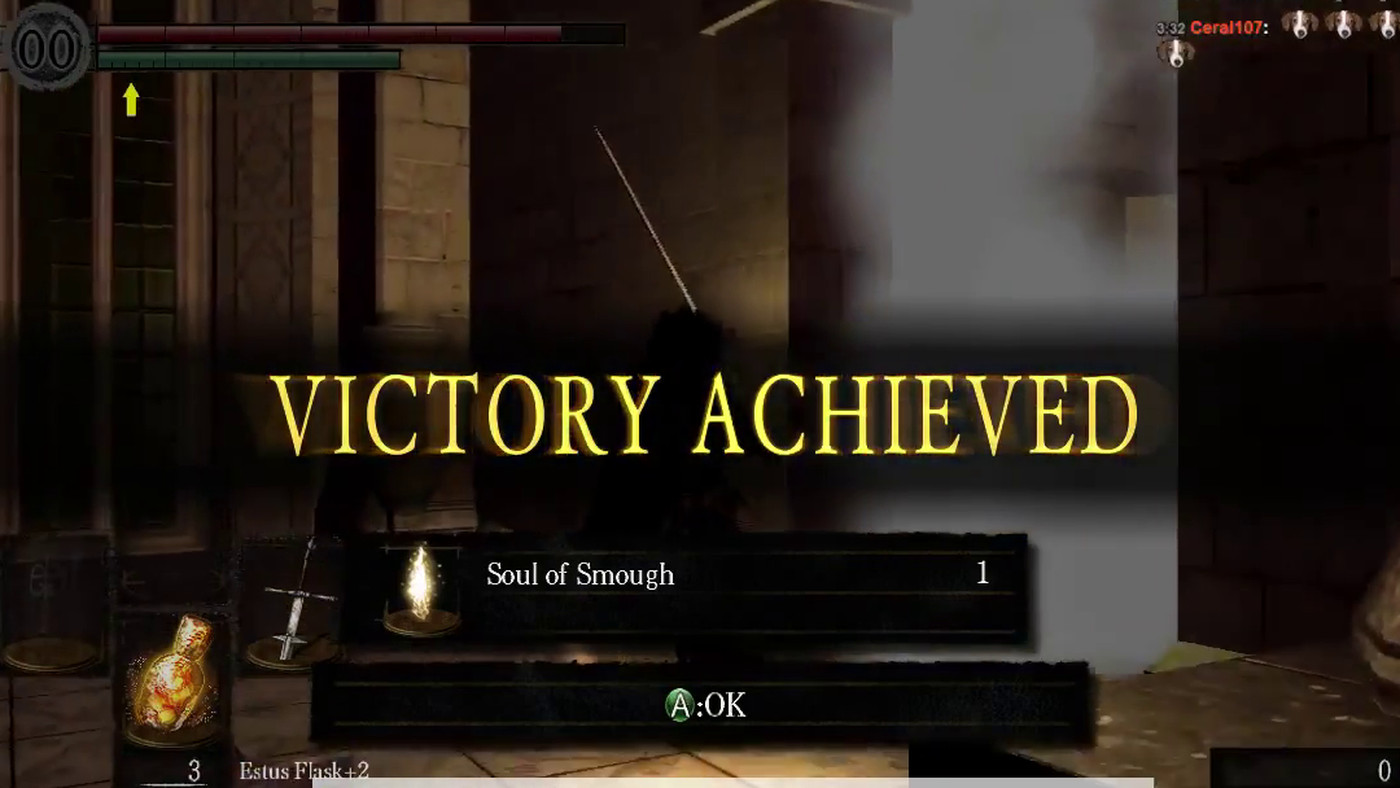 Watch someone beat Dark Souls' toughest boss using only his