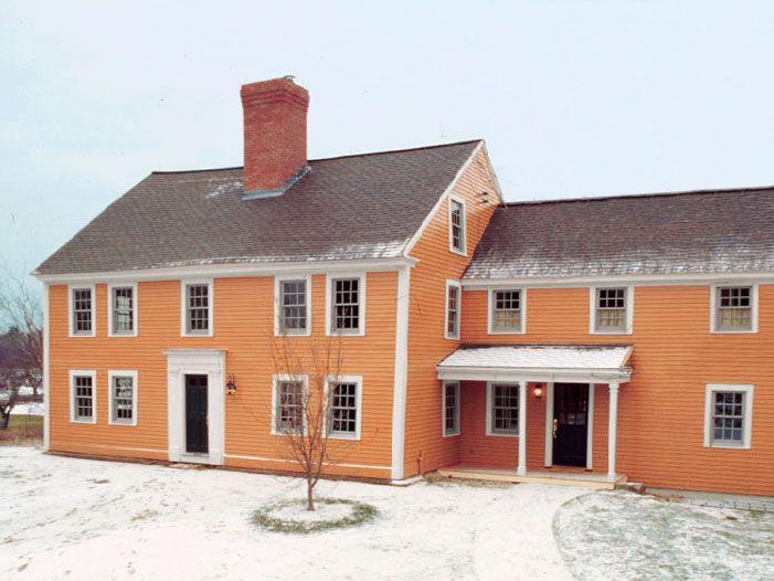 Acton house exterior shot