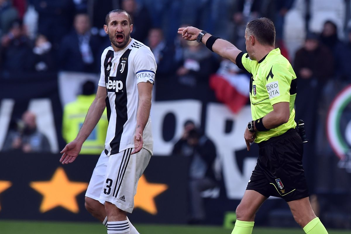 5f5d16ab99e VAR takes center stage as Juve sets Serie A first-half points record -  Black   White   Read All Over