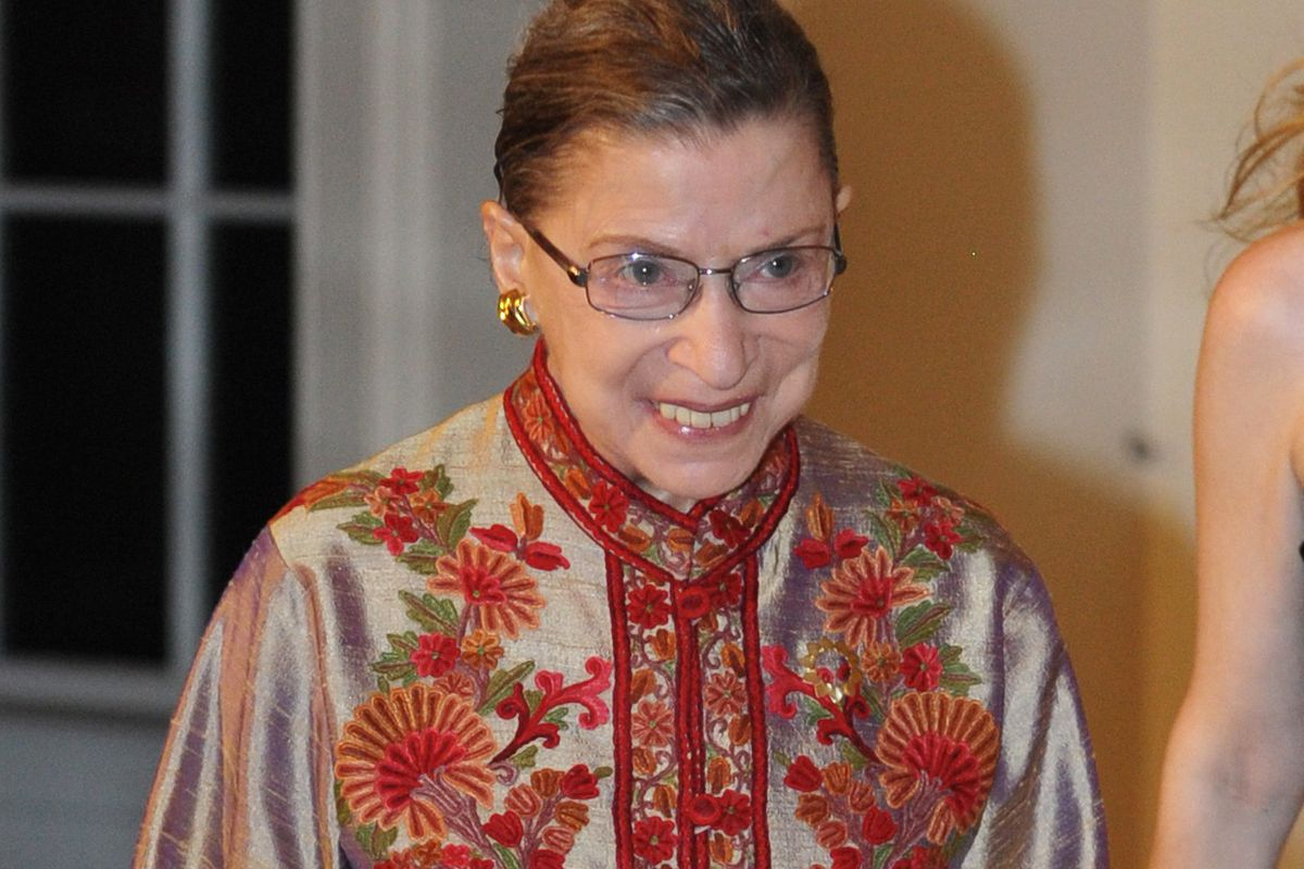 RBG is probably not coming to your Seder but this is probably what she would wear if she did.