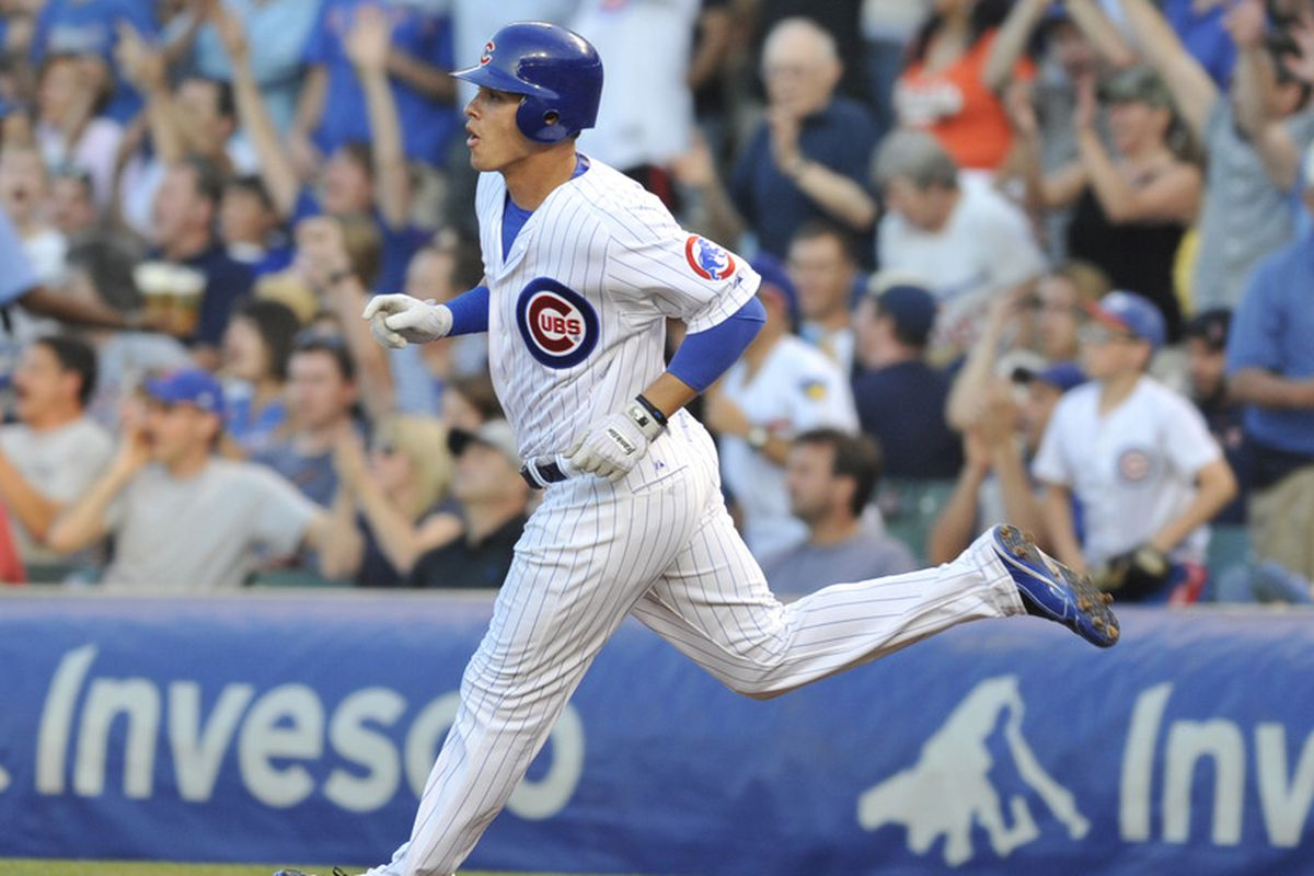 Lou Montanez had four hits tonight for the Iowa Cubs.