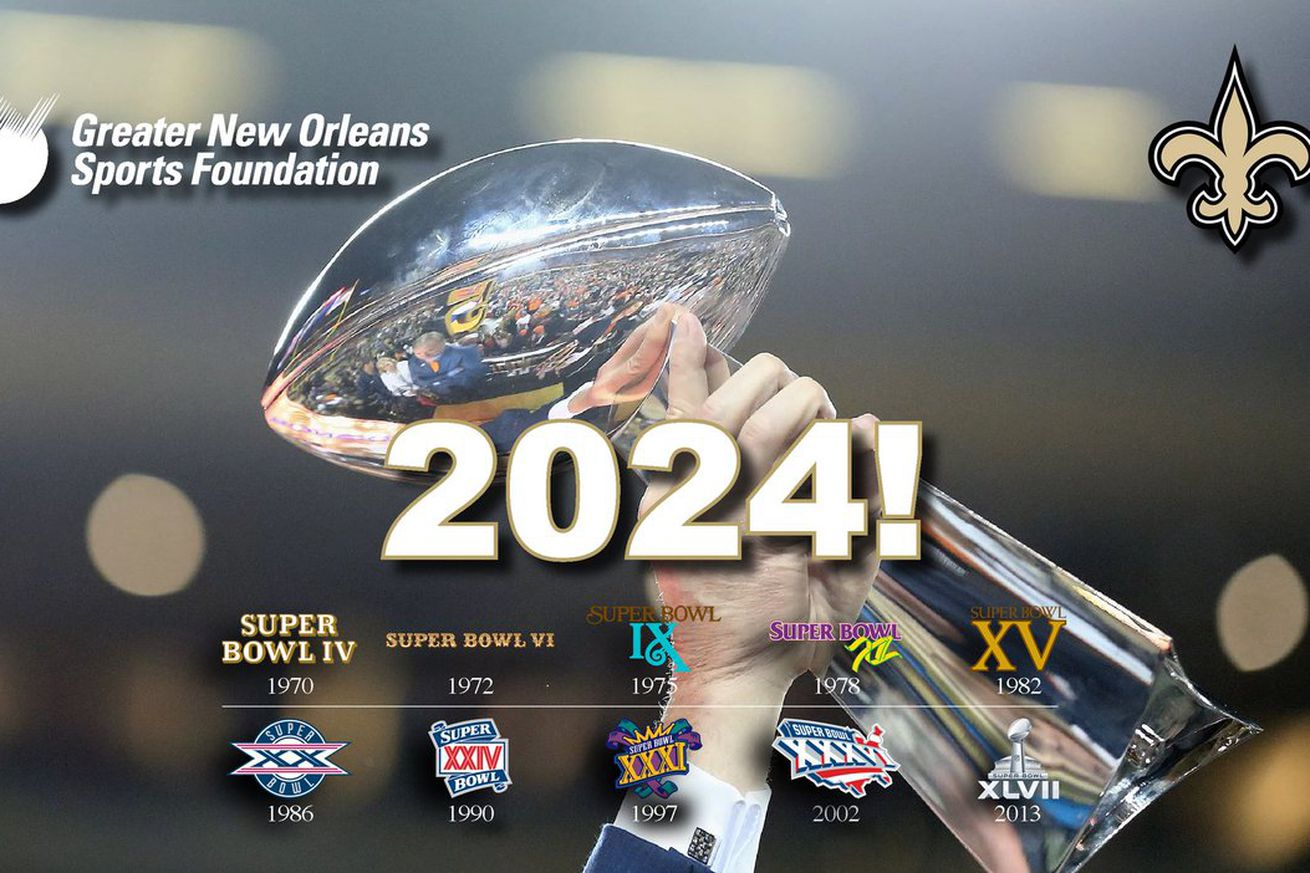 Super Bowl Returning To New Orleans In 2024