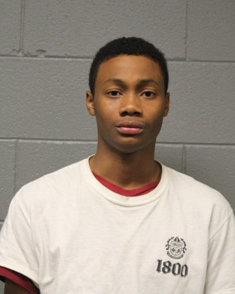 Isaac Williams, 19, is accused of letting undercover cops in to a Bears game at Soldier Field in exchange for $80 while working for Monterrey Security Consultants Inc. Arrest photo