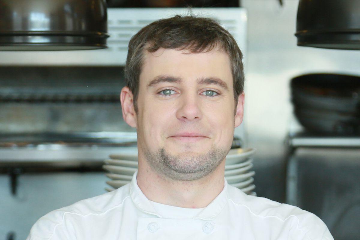 Saltyard chef Nick Leahy