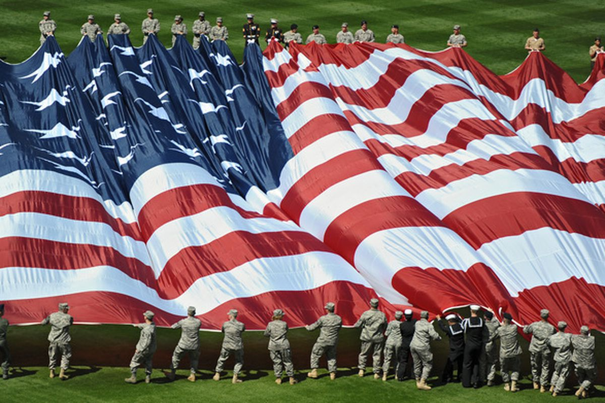 Happy Memorial Day everyone. (Photo by Drew Hallowell/Getty Images)