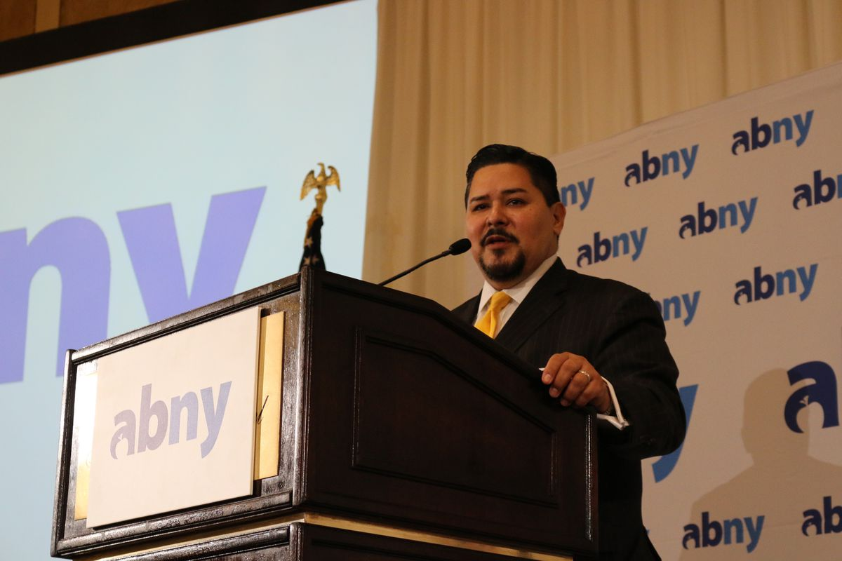 Richard Carranza, pictured here last month, announced new supports for homeless students.