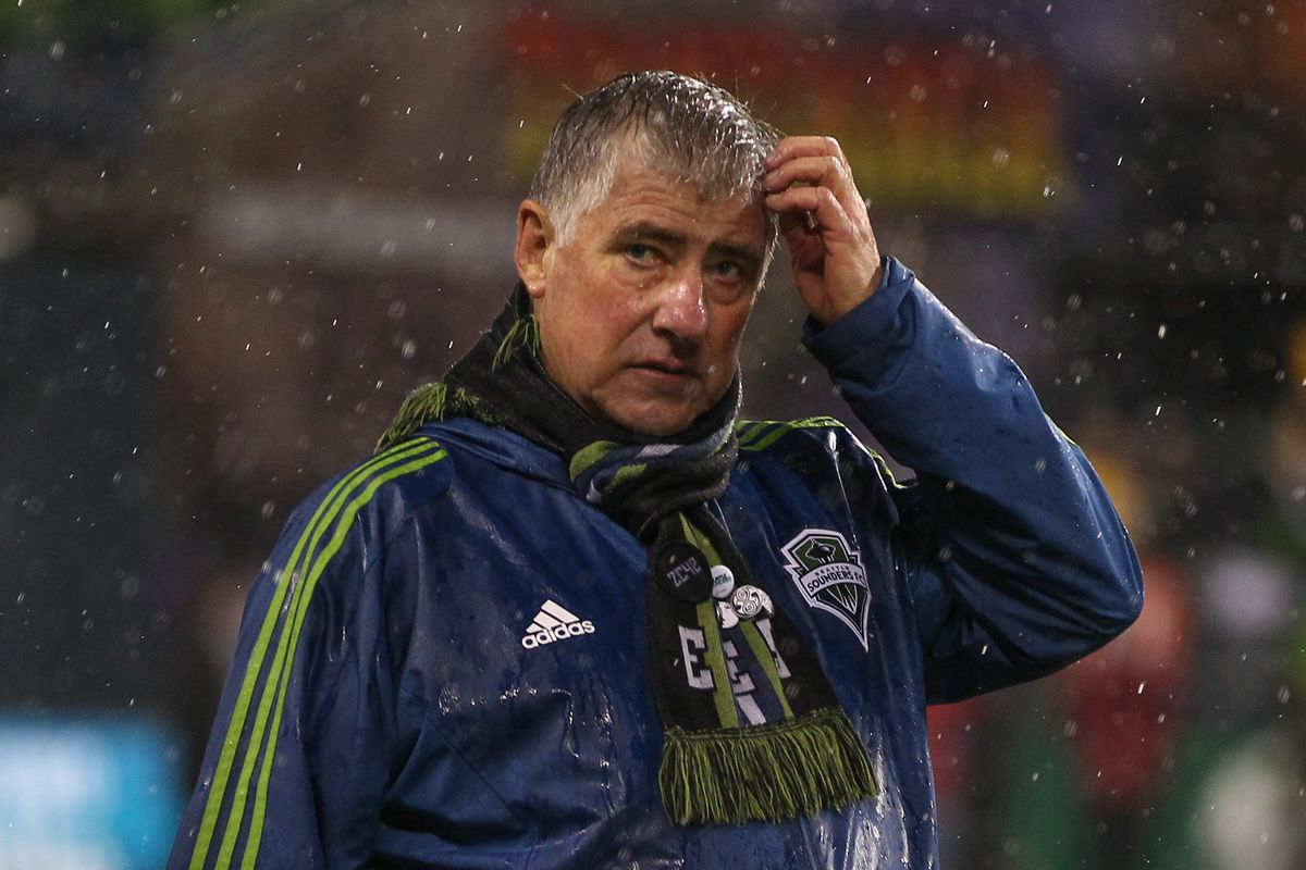 2012 ended with Sigi Schmid and the Sounders watching LA celebrate at CenturyLink