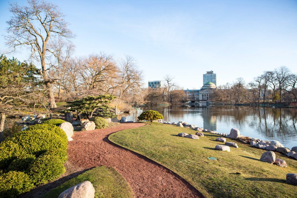 The Japanese Garden on Wooded Island today. | James Foster / Sun-Times