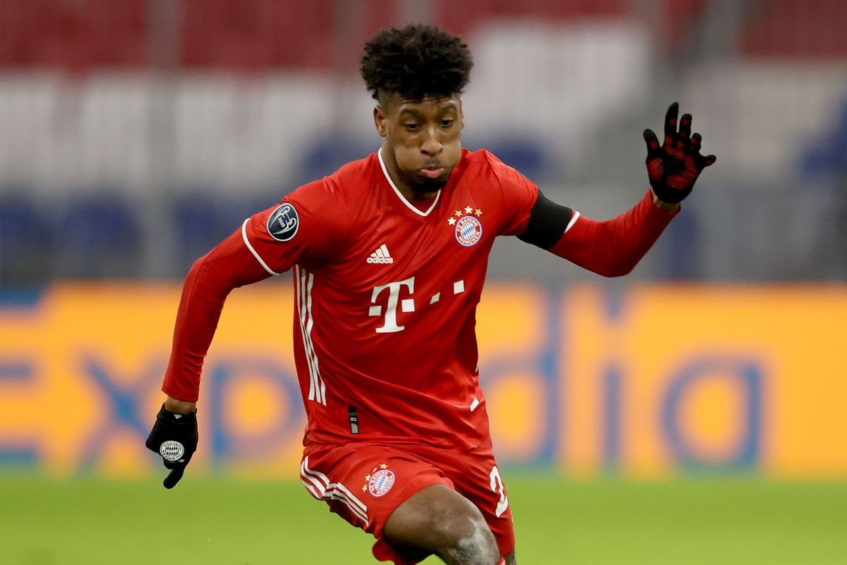Kingsley Coman - FC Bayern Muenchen : Group A - UEFA Champions League
