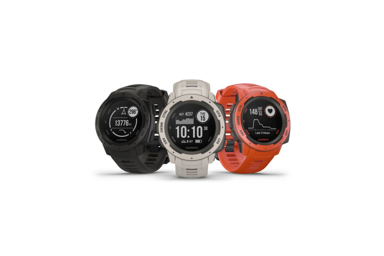 the garmin instinct is a rugged smartwatch for outdoor activities