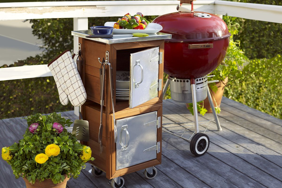 How To Build A Grilling Station This